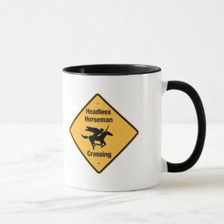 Headless Horseman Crossing Mug