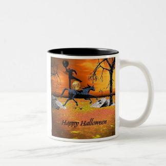 Headless Horseman Halloween Mug
