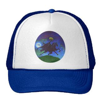 Headless Horseman in the Blue Light Trucker Hat
