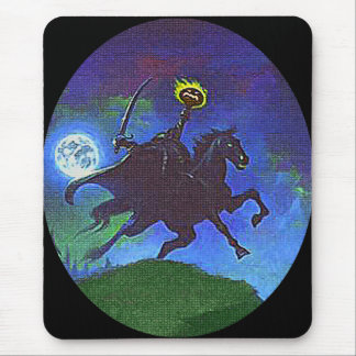 Headless Horseman in the Blue Light Mouse Pad