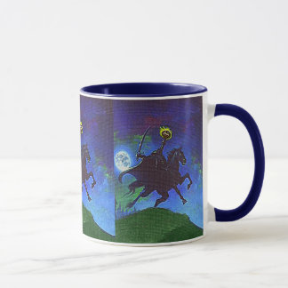 Headless Horseman in the Blue Light Mug