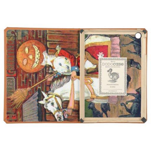 Headless Horseman Jack O Lantern Black Cat iPad Air Covers