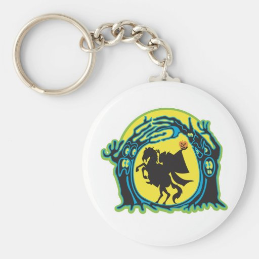 headless horseman key chains
