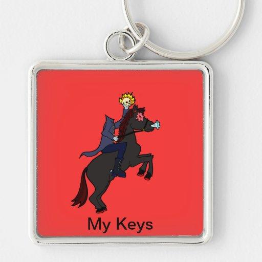 Headless Horseman Key Chain