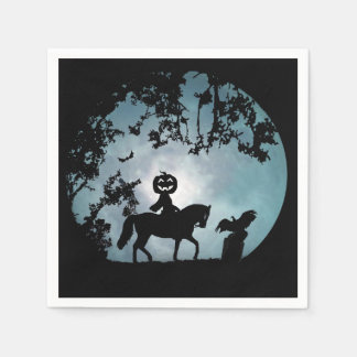 Headless Horseman Party Paper Napkins