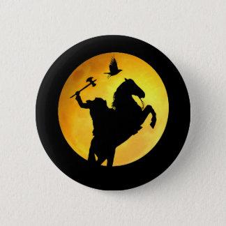 Headless Horseman Pinback Button