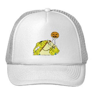 headless horseman pumpkin head yellow hat
