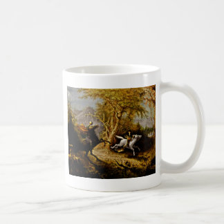 Headless Horseman Pursuing Ichabod Crane Coffee Mug