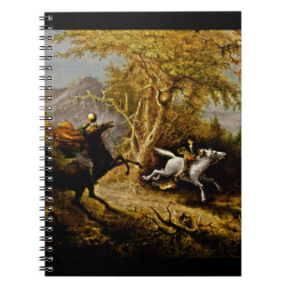 Headless Horseman Pursuing Ichabod Crane Notebook