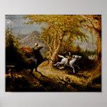 Headless Horseman Pursuing Ichabod Crane Posters