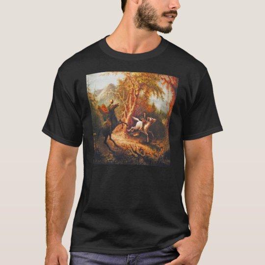 Headless Horseman Pursuing Ichabod Crane T-Shirt