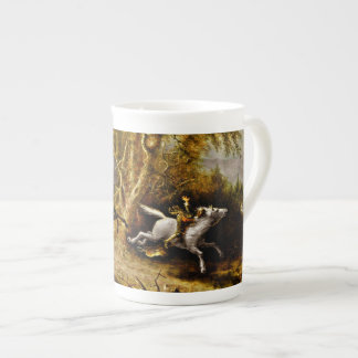 Headless Horseman Pursuing Ichabod Crane Tea Cup
