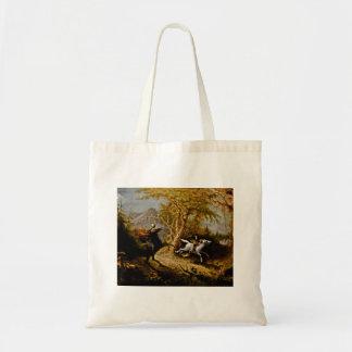Headless Horseman Pursuing Ichabod Crane Tote Bag
