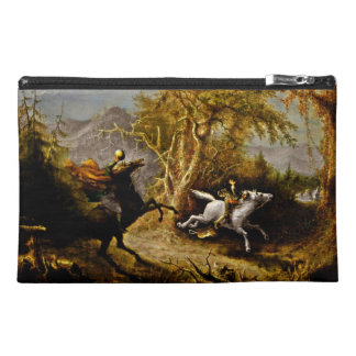 Headless Horseman Pursuing Ichabod Crane Travel Accessory Bag