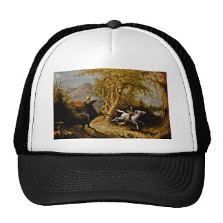 Headless Horseman Pursuing Ichabod Crane Trucker Hat