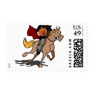 Headless Horseman Rides Again Postage