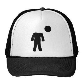 headless icon hat