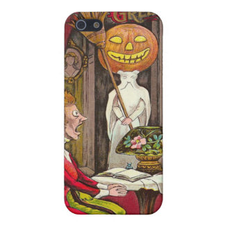 Headless Jack O'Lantern Trick R' Treat Cover For iPhone SE/5/5s