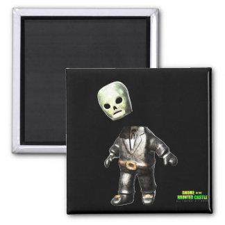 Headless Man 2 Inch Square Magnet
