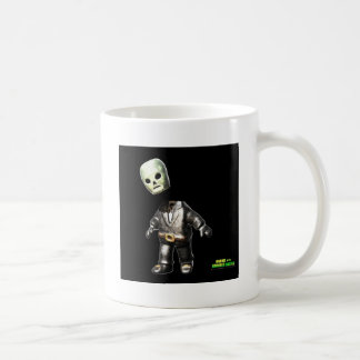 Headless Man Classic White Coffee Mug