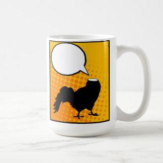 Headless rooster coffee mugs