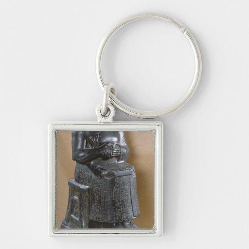 Headless statue of Prince Gudea  as an Key Chains