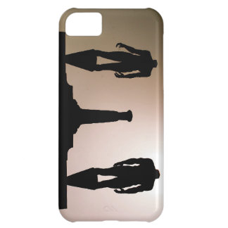 Headless Statues Silhouette Cover For iPhone 5C