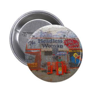 Headless Woman Pinback Button