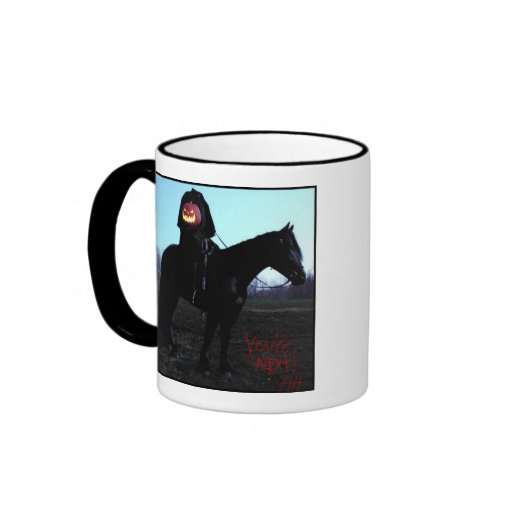 HeadlessHorsemanw/BloodyAutograph,mugs