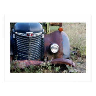Headlight and Grill Postcard