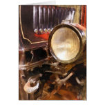 Headlight from 1917 Truck Greeting Card