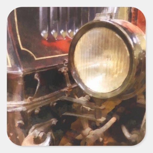 Headlight from 1917 Truck Square Sticker