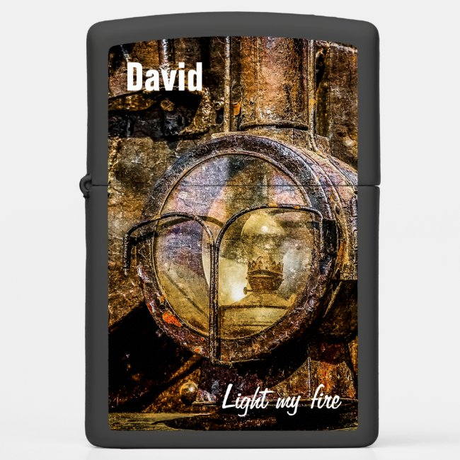 Headlight - Light my fire funny customizable