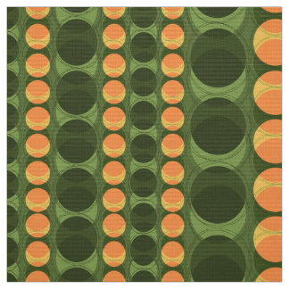 Headlights Retro Polka Dot Stripes Fabric