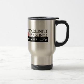 Headlines & Deadlines Coffee Mug