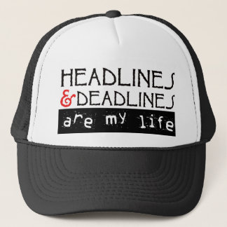 Headlines & Deadlines Trucker Hat