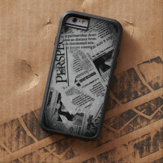 Headlines: Newsprint Tough Xtreme iPhone 6 Case