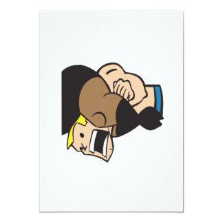 Headlock 2 5x7 paper invitation card