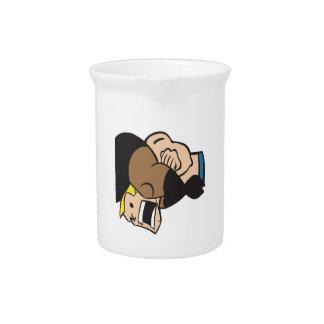 Headlock 2 beverage pitchers
