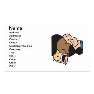 Headlock 2 business cards