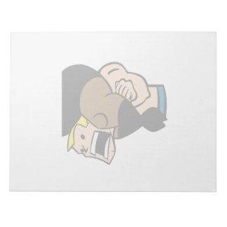 Headlock 2 memo notepads