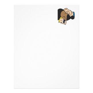 Headlock 2 personalized letterhead