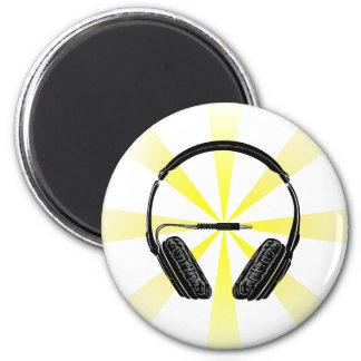 Headphone_2 2 Inch Round Magnet