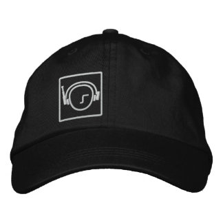 Headphone Cap Embroidered Hat