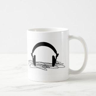 headphone coffee mug