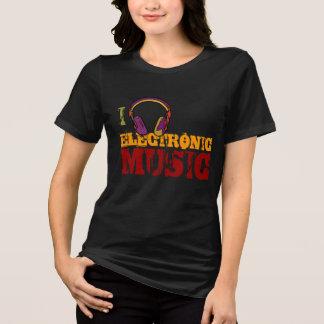 headphone electro music lover shirts
