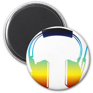 headphone fridge magnet