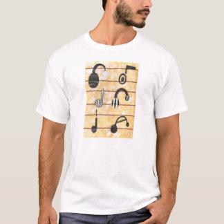 Headphone Musical Men's T-shirt