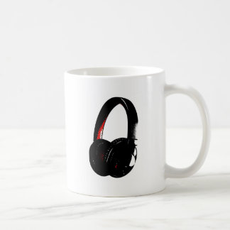 Headphone Pop Art Head Phone Coffee Mug