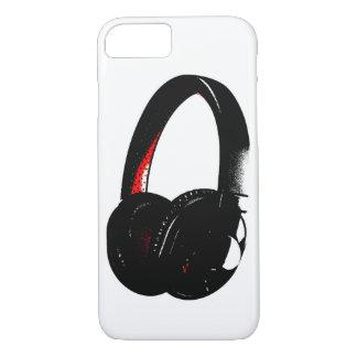 Headphone Pop Art Head Phone iPhone 7 Case